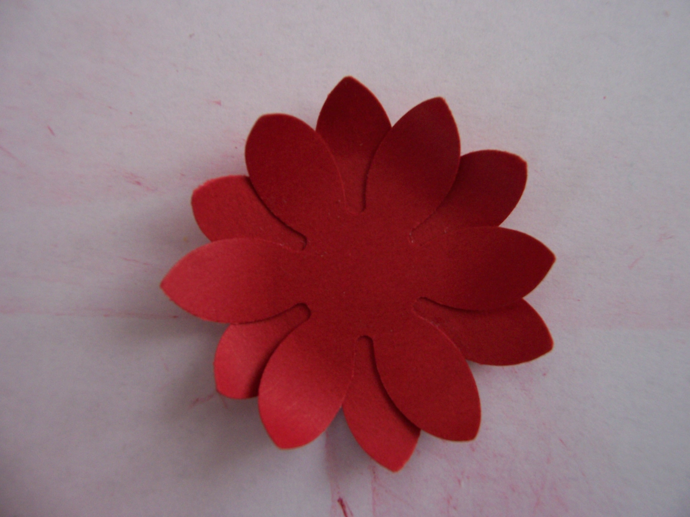 How to make beautiful flowers using craft punches an american in 1005286 mightylinksfo