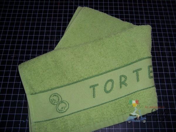dish towel apron